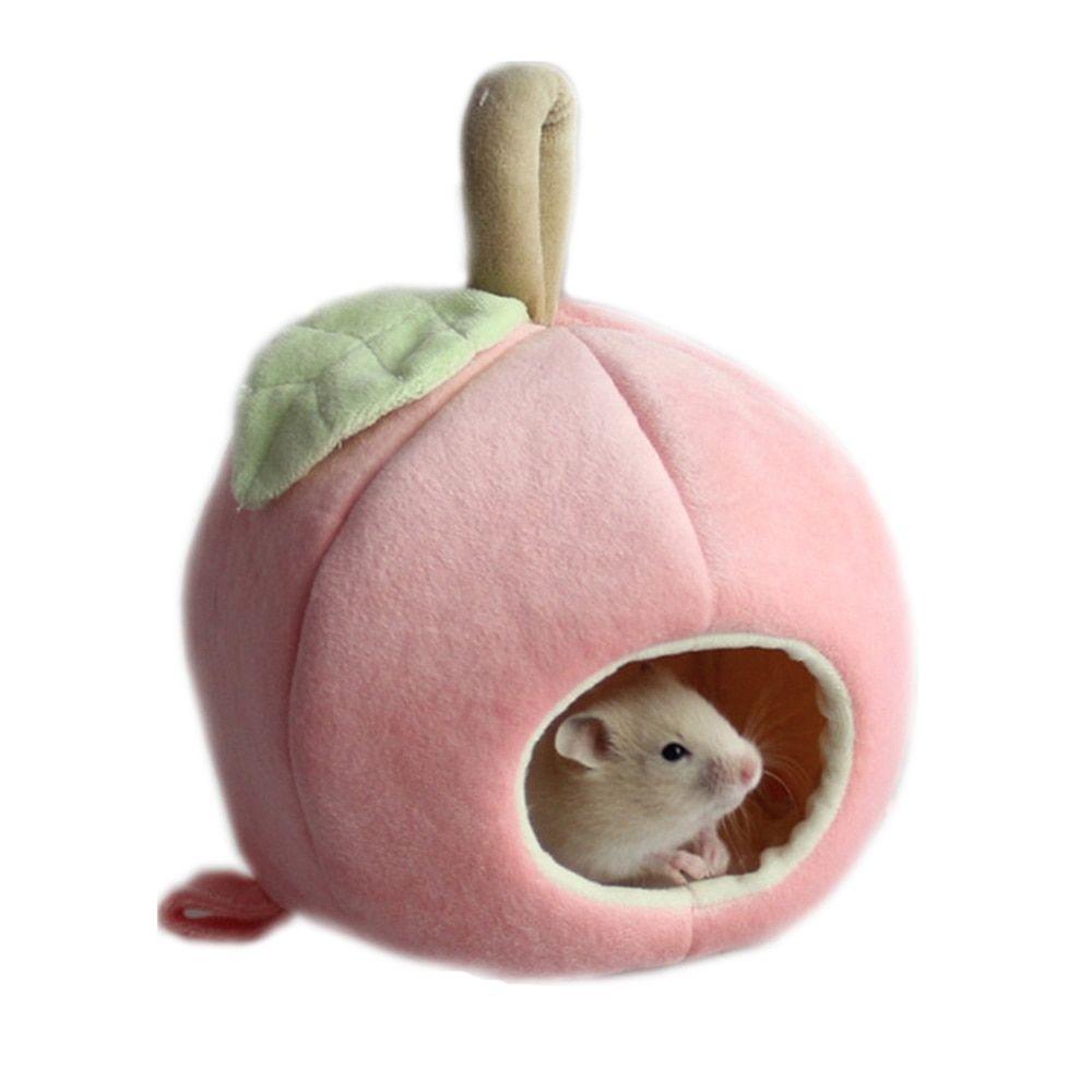 Hamster House Mini Hamburg Shaped Winter Warm Hanging Bed Hamster Nest Cage
