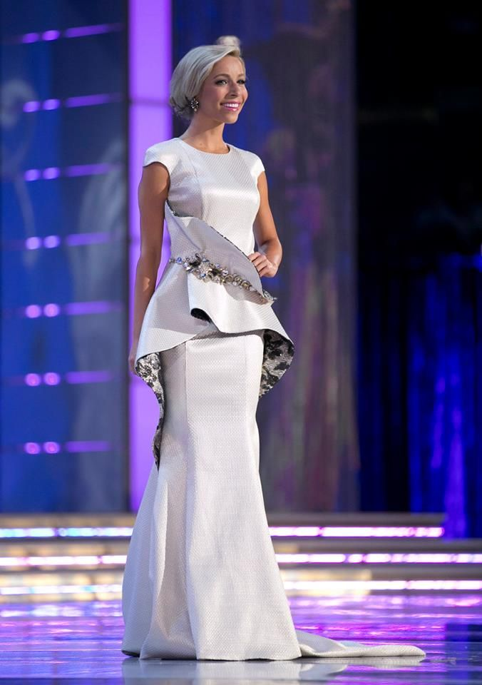 Top 10 Miss America Evening Gowns of 2015   Pageants, Tony bowls and ...