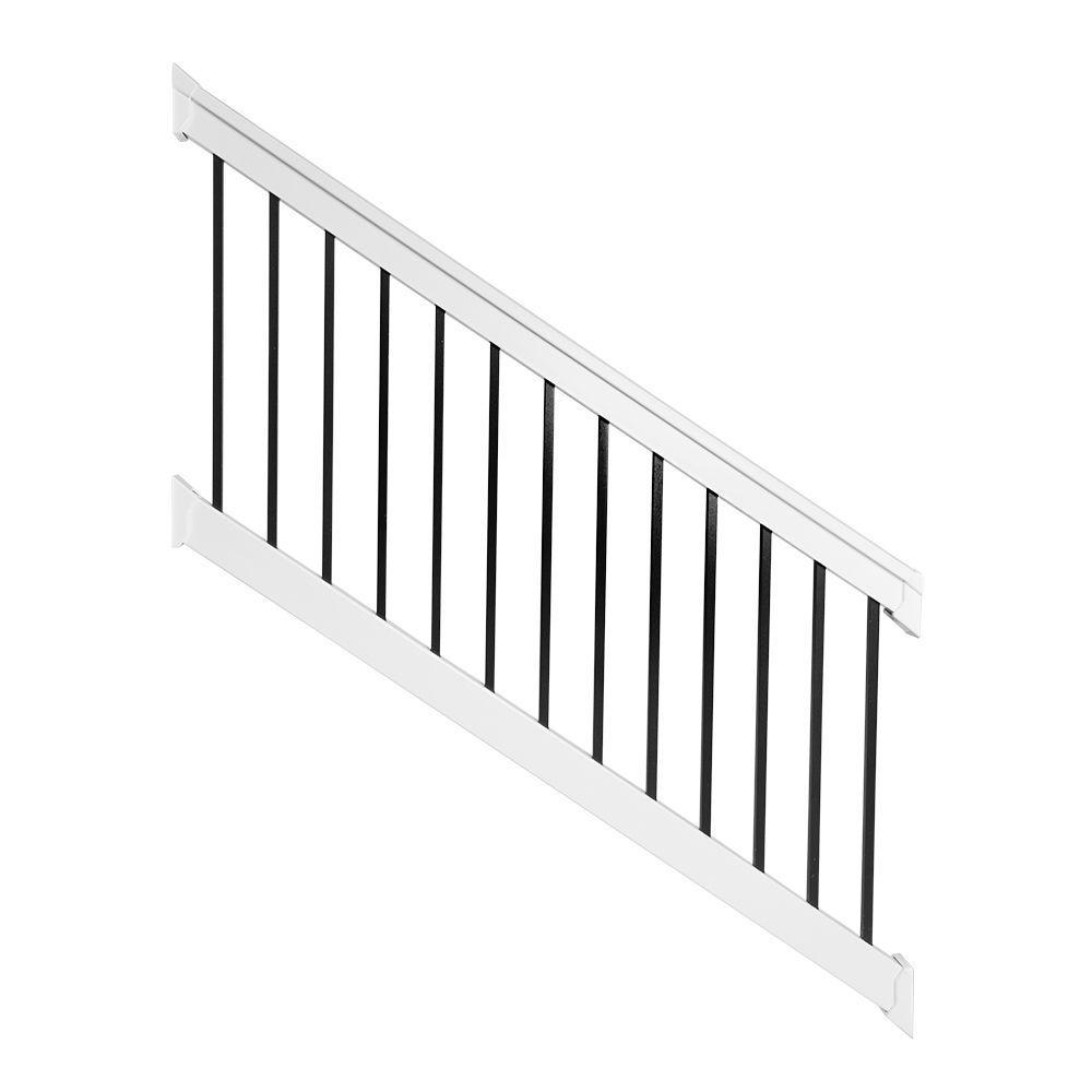 Best Weatherables Vilano 3 Ft X H 8 Ft W Vinyl White Stair 400 x 300