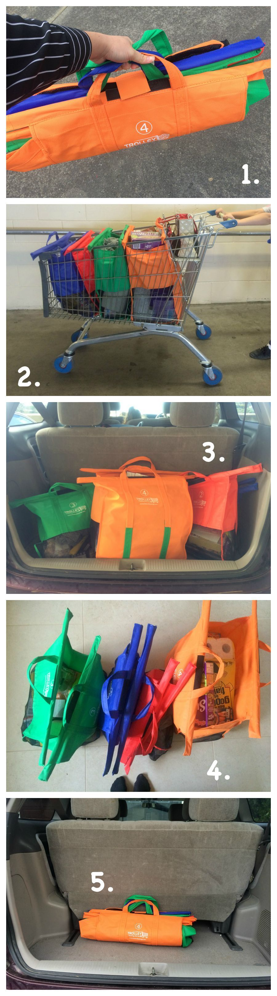 Trolley Bags Review - Using them | 2-That's one small bag for a ...