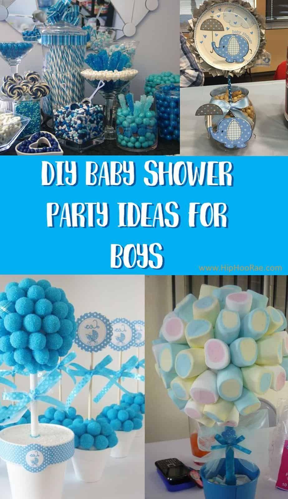 Diy Baby Shower Party Ideas For Boys Wonderful Ideas Boy Baby