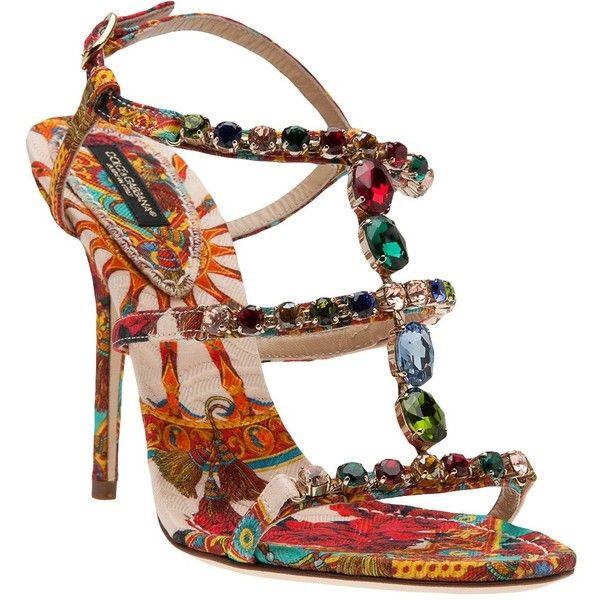 0e8ba4586 DOLCE   GABBANA gemstone sandal ( 1