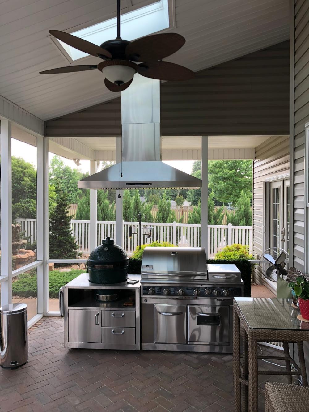 Proline Range Hoods Reviews Outdoor Kitchen Bars Outdoor Kitchen Outdoor Kitchen Island