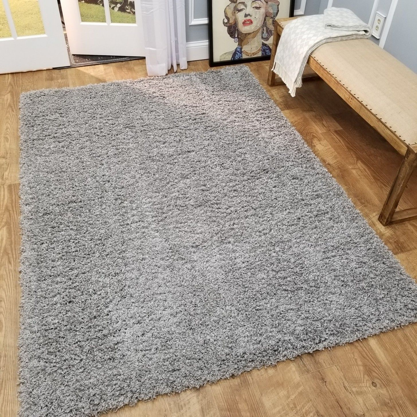 Living Rooms With Grey Carpet In 2020 Gray Shag Area Rug Shag Area Rug Grey Carpet