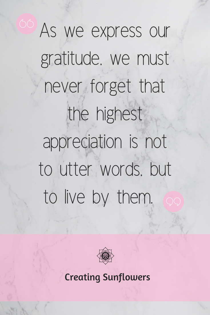 Learn to be Grateful, 11 Gratitude Quotes to Inspire You