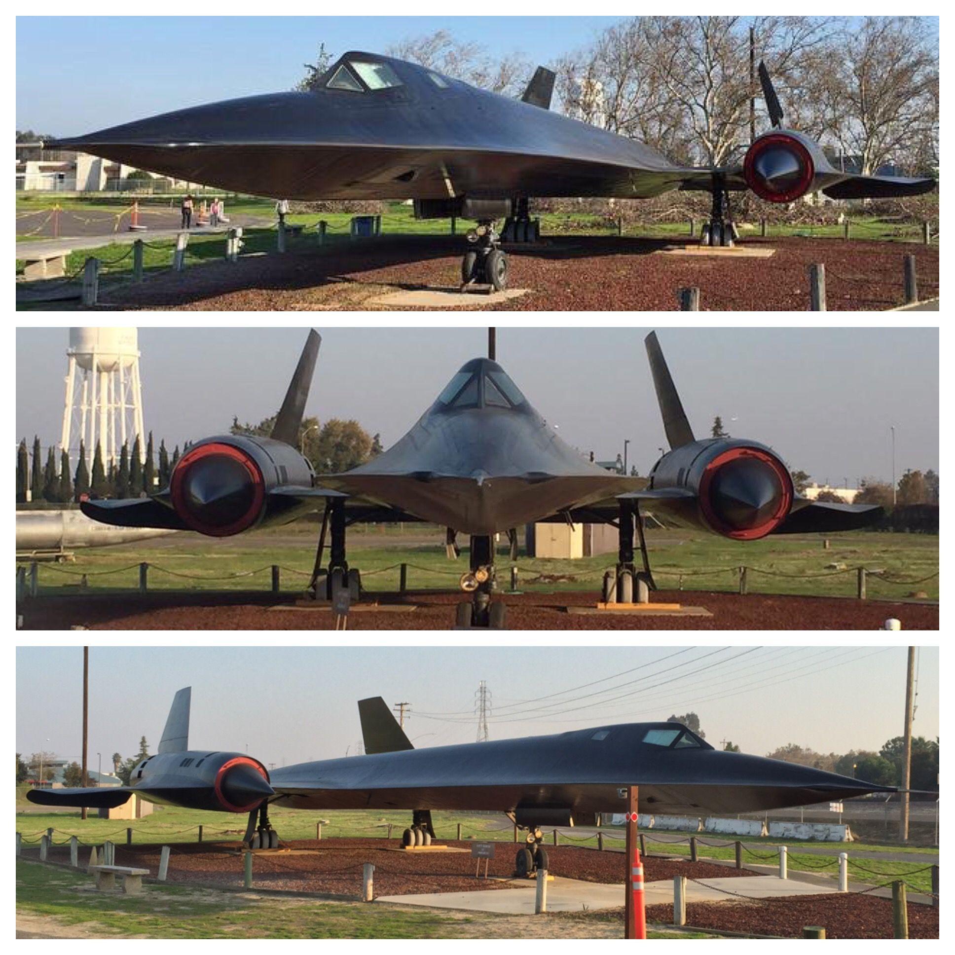 Lockheed SR71 Blackbird KMER Castle AIr Museum