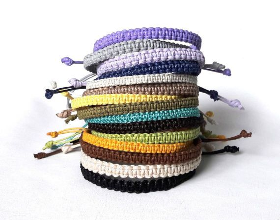 Mens Bracelet Friendship Men Cord String Custom Beach Boyfriend Bracelets