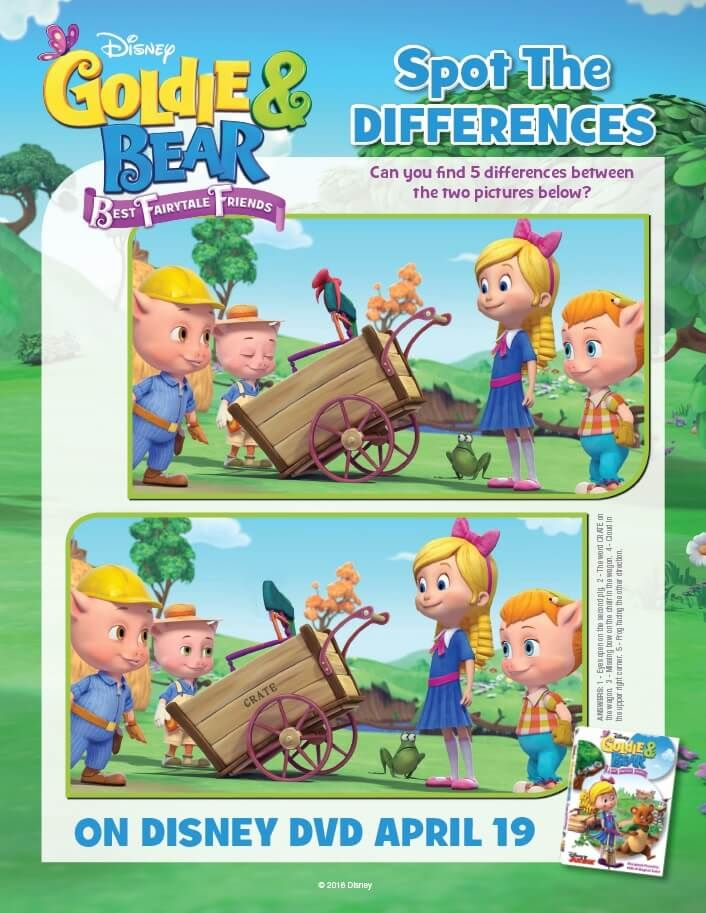 Disney Junior Goldie And Bear Coloring Pages Activity Sheets Bear Coloring Pages Disney Junior Disney Movie Rewards