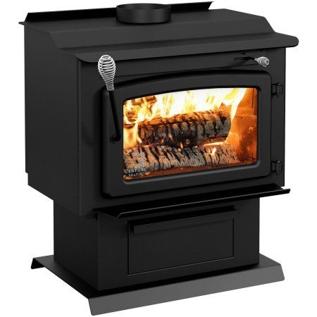 Century Fw Wood Stove With Blower Black