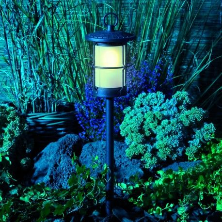 Techmar Flood 20 12v 20w Aluminium Led Flood Light Led Outdoor Lighting Garden Post Lights Side Garden