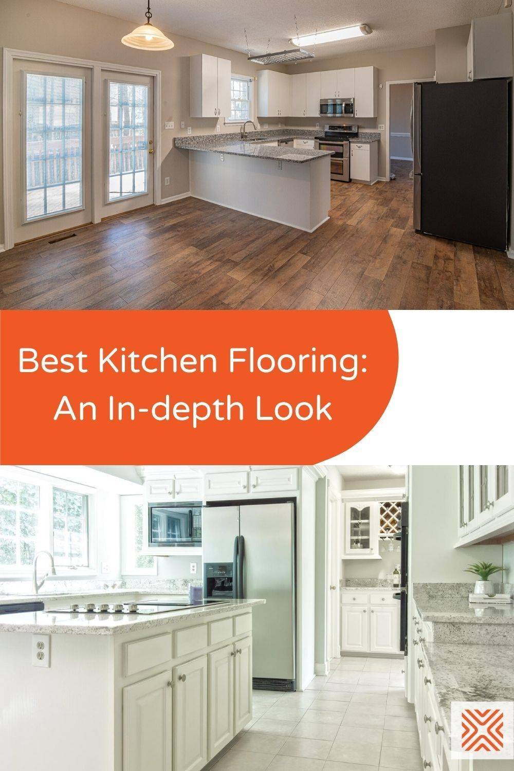 Options Costs And Features For The Best Flooring For Kitchen In 2020 Kitchen Flooring Best Flooring For Kitchen Kitchen Flooring Options