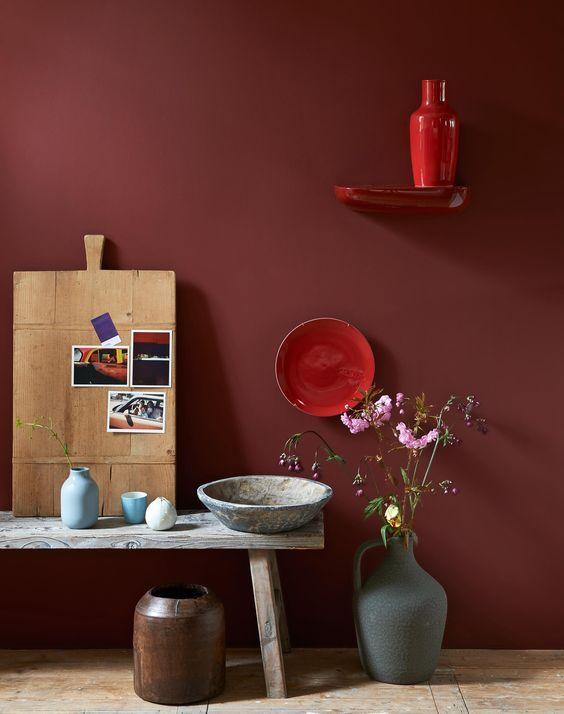 rood05  ide salon  Pinterest  Interieur Rood