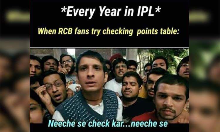 Funny Memes On Rcb After The Loss Masti Hub Really Funny Memes Very Funny Memes Funny Facts