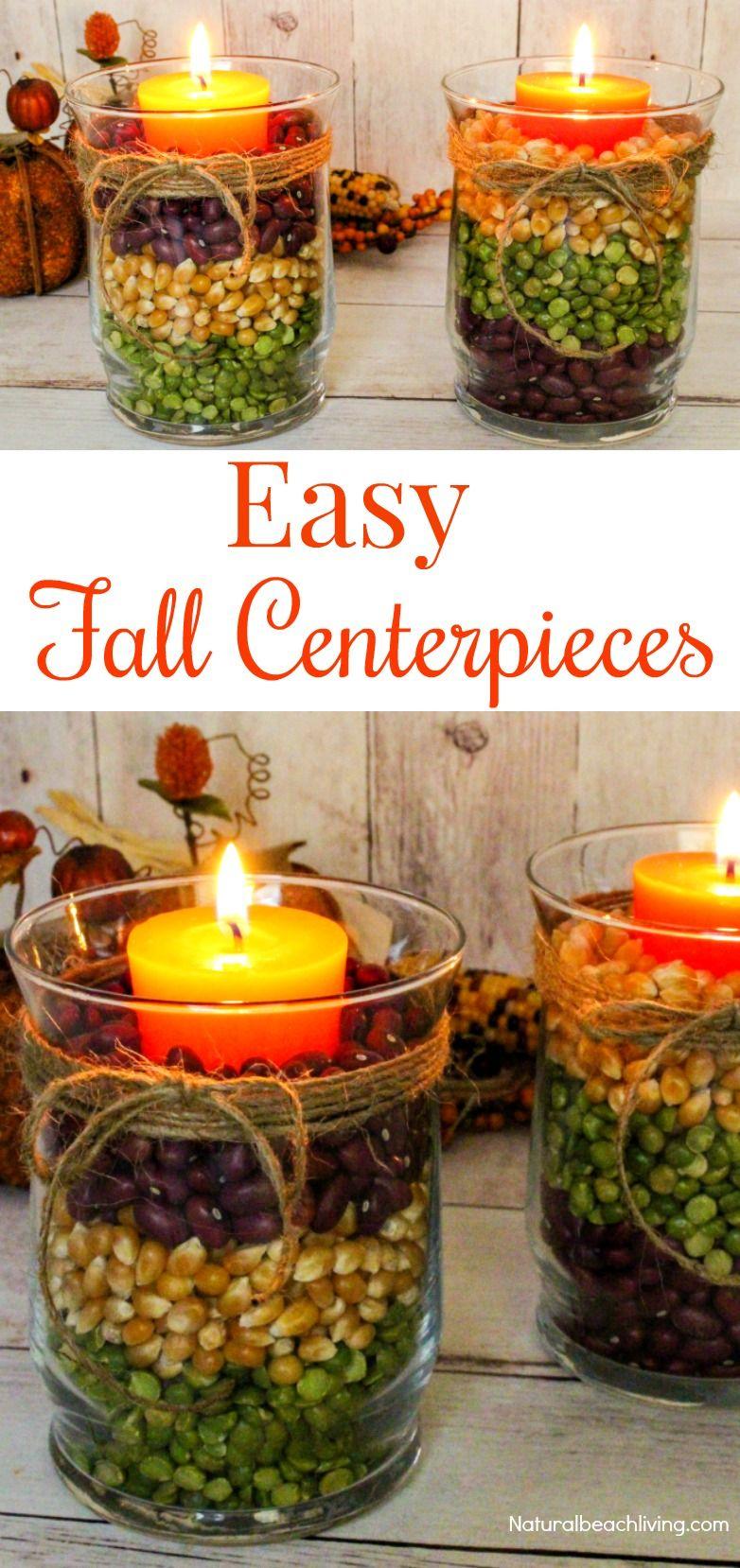 Harvest Centerpieces For Fall Decor