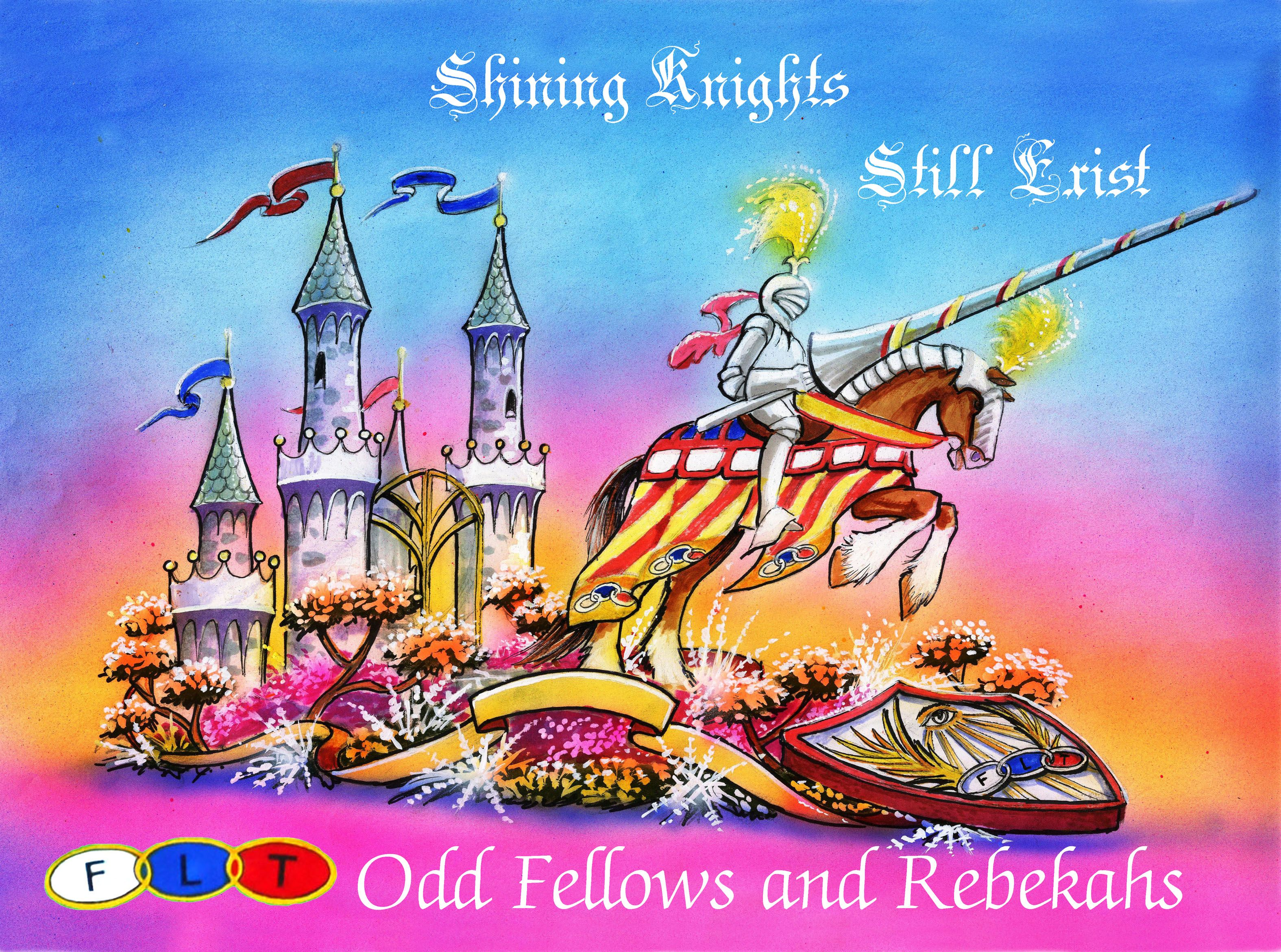 "2012 - Odd Fellows and Rebekahs ""Shining Knights Still Exist"" - Michelle Lofthouse"