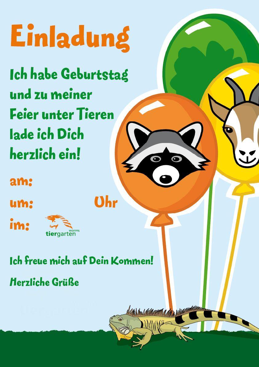 kindergeburtstag einladungen zum ausdrucken - google search, Einladung