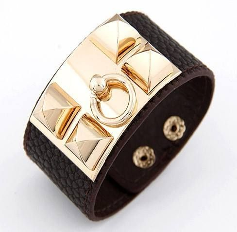 d8268f9de Studded Leather Cuff Bracelet . . . #realhousewives #housewivesjewelry # jewelry #cuffbracelet #bracelet #style #fashion