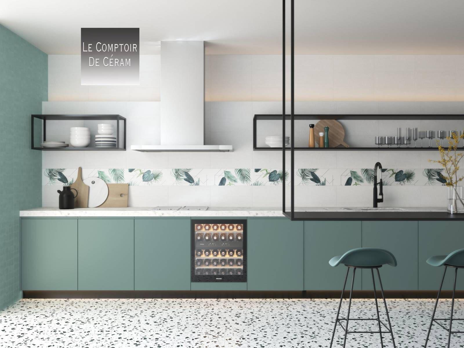 Carrelage Effet Terrazzo Mur Et Sol 20 X 20 Cm Avec Ou Sans Motifs Jacou Gf4 Vente De Carrelag En 2020 Designs De Petite Cuisine Interieur De Cuisine Salle De Sejour
