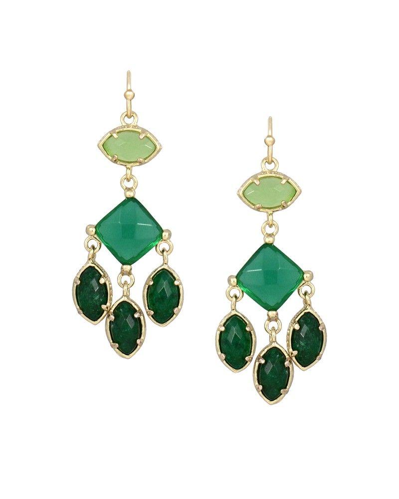 Evelyn Chandelier Earrings In Jazz Kendra Scott Jewelry