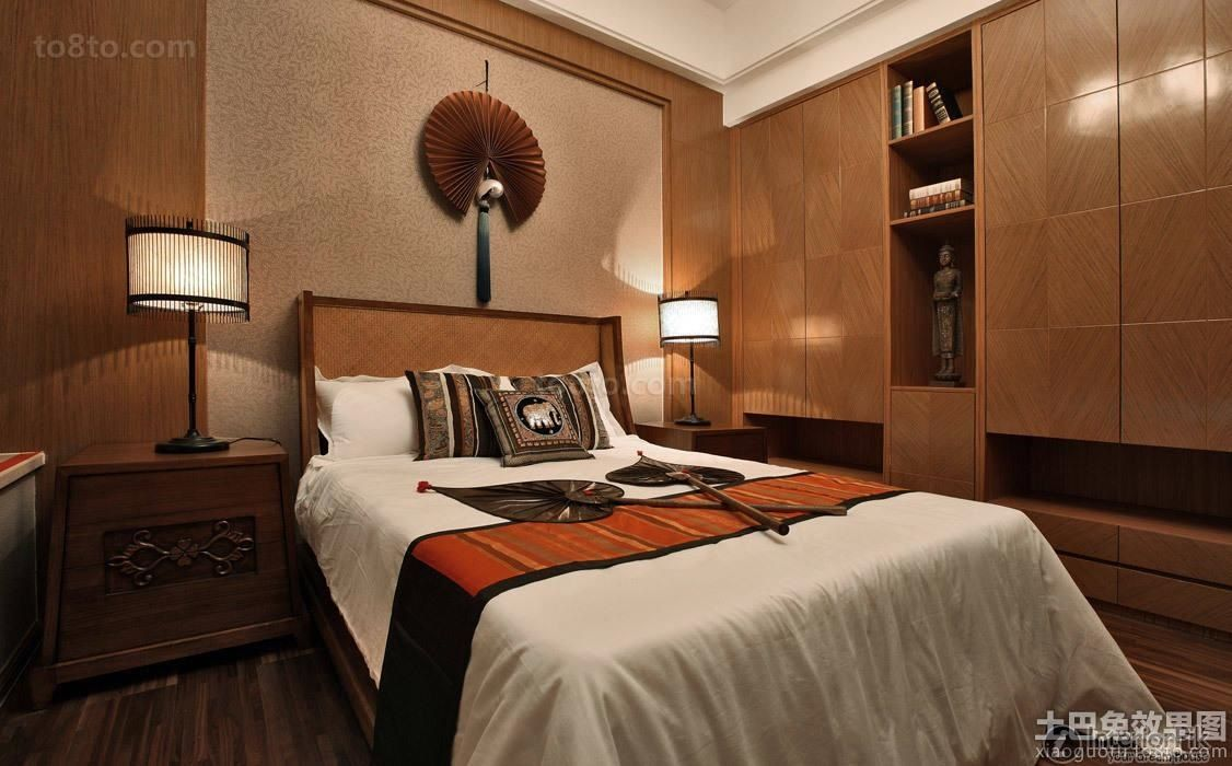 Effect picture of southeast asia fashion design bedroom