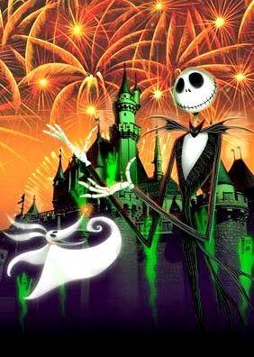 ディズニー ハロウィンのイラスト画像ナイトメアのジャック