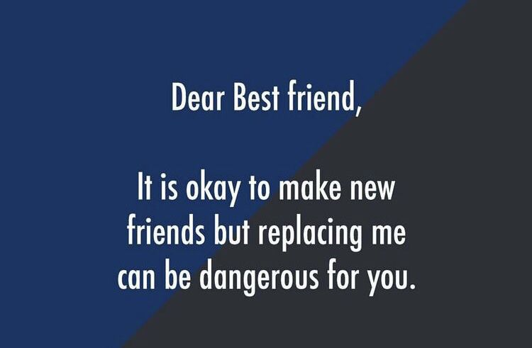 idiotic friend ship to leave alone ia the most painful moment