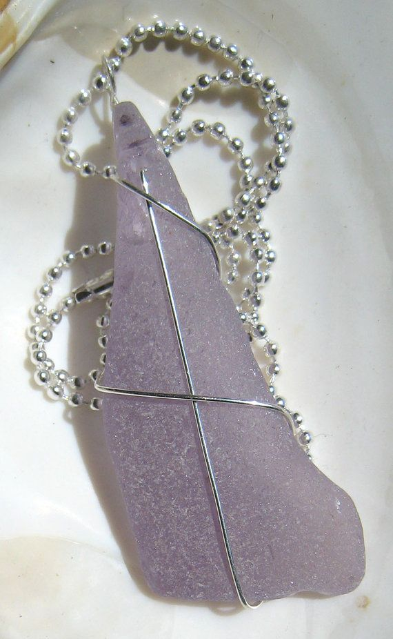 HUGE Lavender Purple Sea Glass by SeaSwag on Etsy