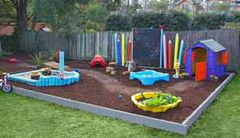 This months issue Better Homes and Gardens, DIY Kids back Yard!
