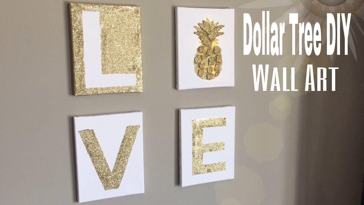 Dollar Tree Wall Art Diy Diy Bedroom Wall Decor Diy Office Wall