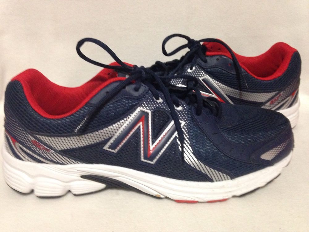 New Balance Red White Blue 450V3 Mens Running Shoes Size 14