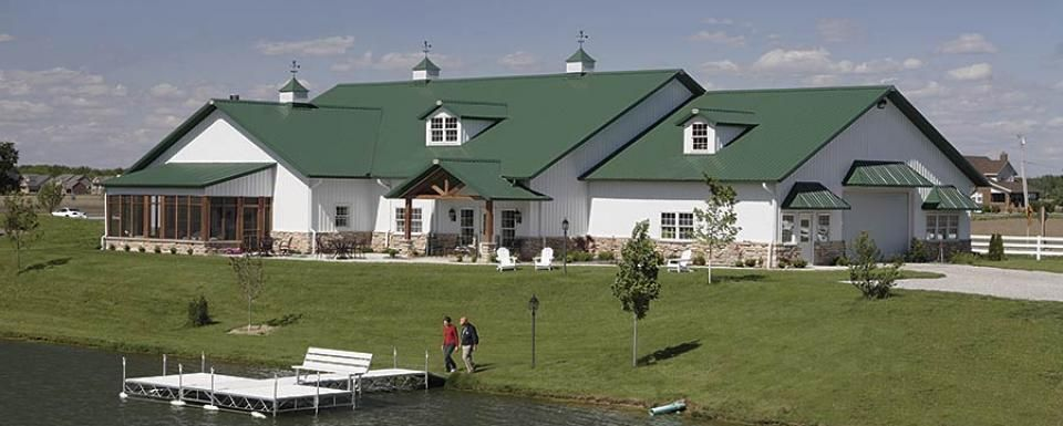 metal barn with living quarters floor plans | pole barn home and
