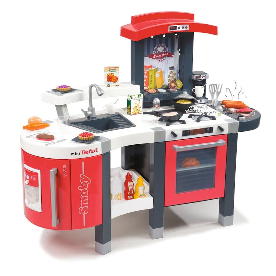 Smoby Super Chef Deluxe Play Kitchen Multicolor Play Kitchen