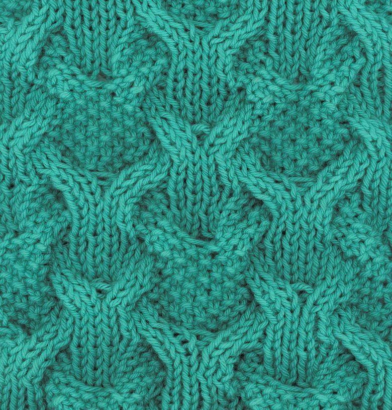 Reversible Cable Knitting Patterns | Seed stitch, Knitting patterns ...