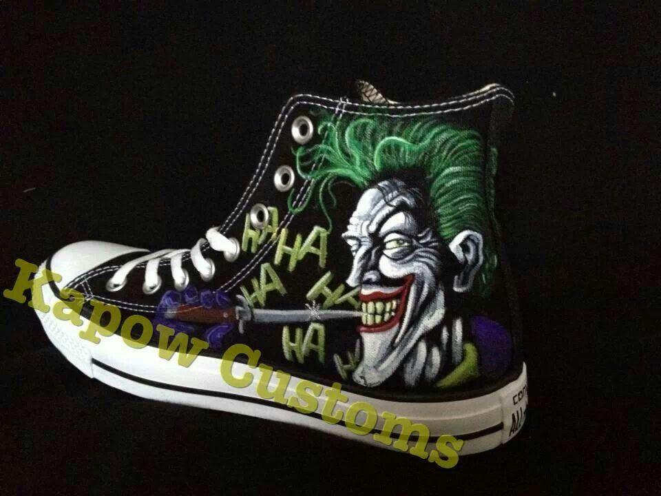 5e49567c8ff9dc ... top quality the joker custom converse sneakers pinterest custom  converse and converse 178f6 c857b