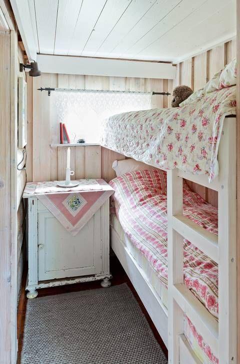 Photo of NICE: På det andre soverommet er det en køyeseng i stedet for singelen …