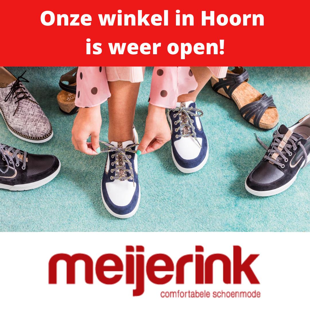 Het is Sale bij Meijerink Schoenen. Profiteer van de Durea