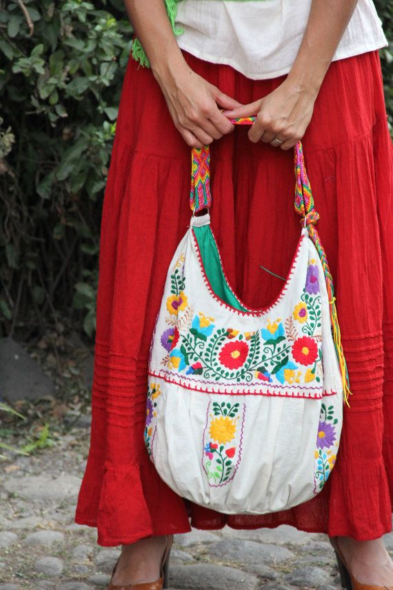 WHOLESALE pre-order for 6 Embroidered Huipil Boho Travel totes ...