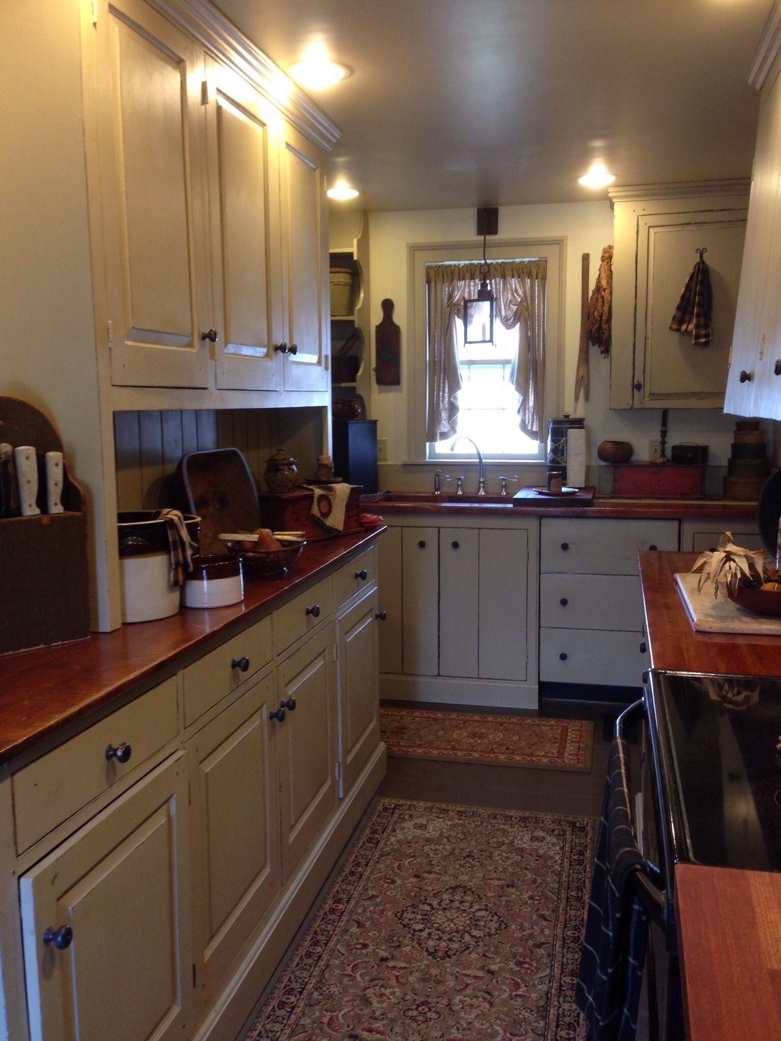 Debi Skolas kitchen - Primitives in Pine, Hollis Center, Maine ...