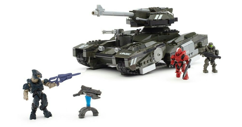 MEGA BLOCKS/LEGO HALO scorpion instructions included   Halo