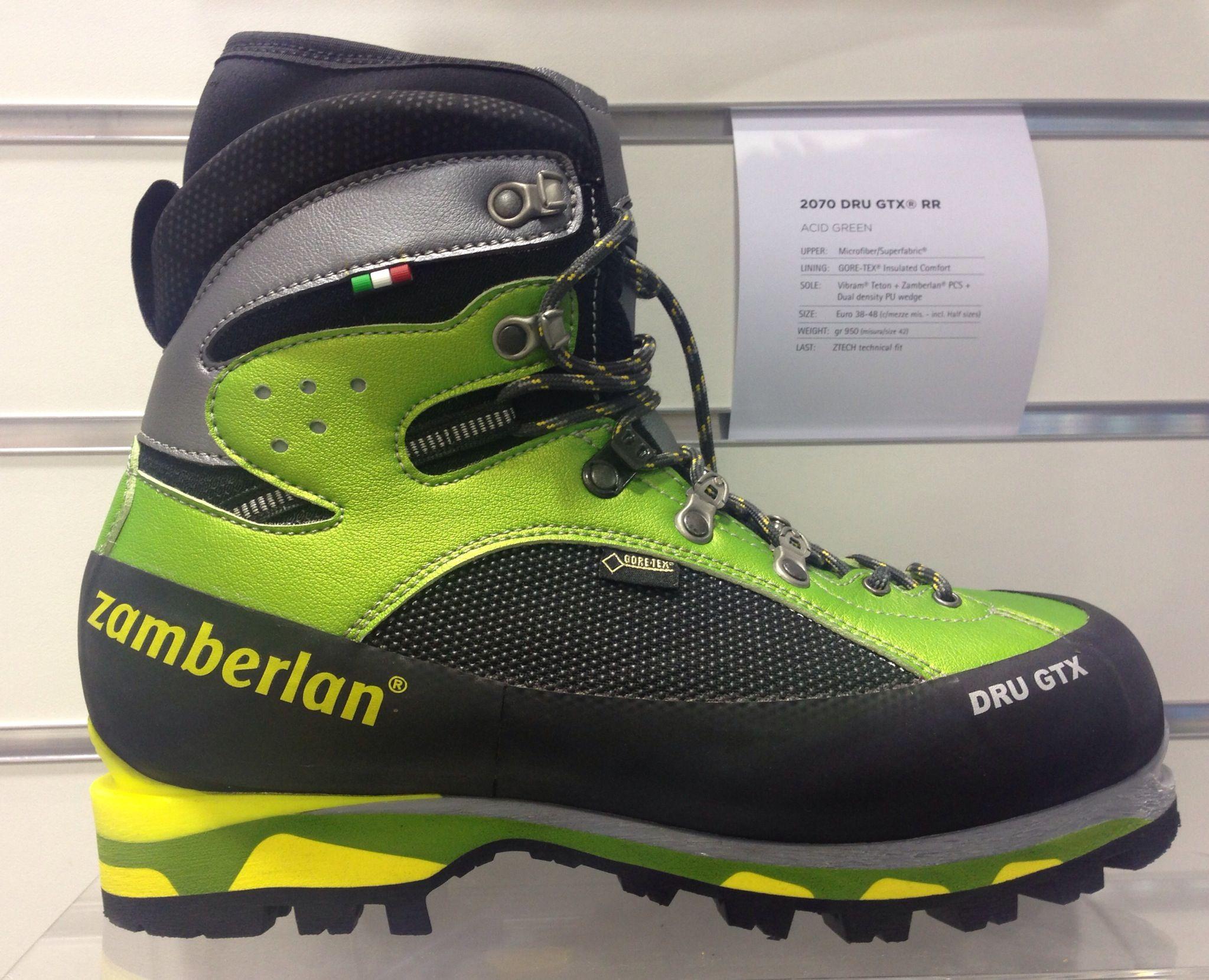 Zamberlan Drugtx Mens Snow Boots Mountaineering Boots Caterpillar Boots