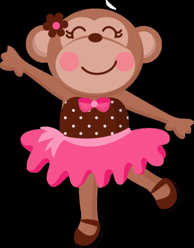 JWI_GirlyMonkey_2.png (681×870) | Ballerina monkey, Monkey ...