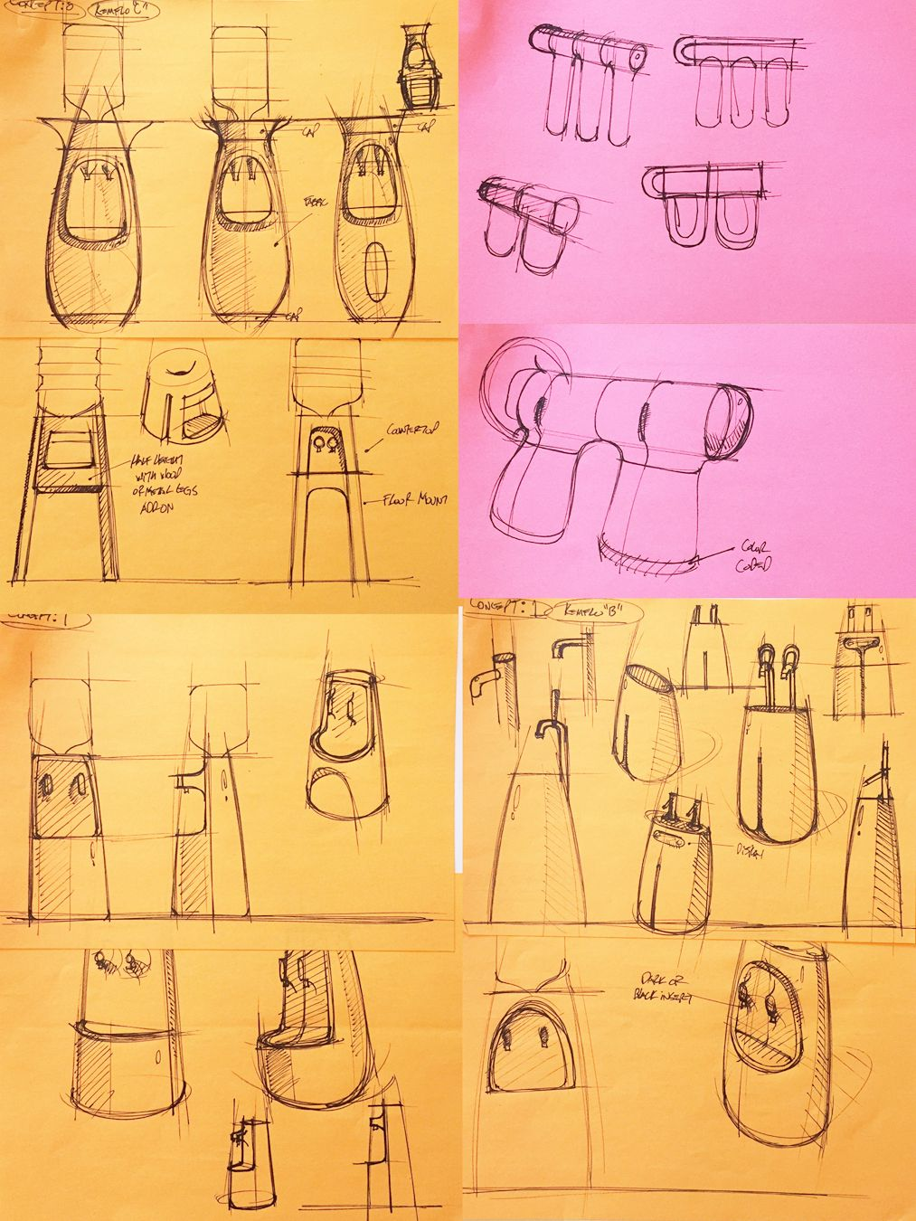 Process Insight Thumbnail Sketches For Kemflo Water Filtration Visual Brand Language James Owen Design Kemflo Design I Sketches Male Sketch Design