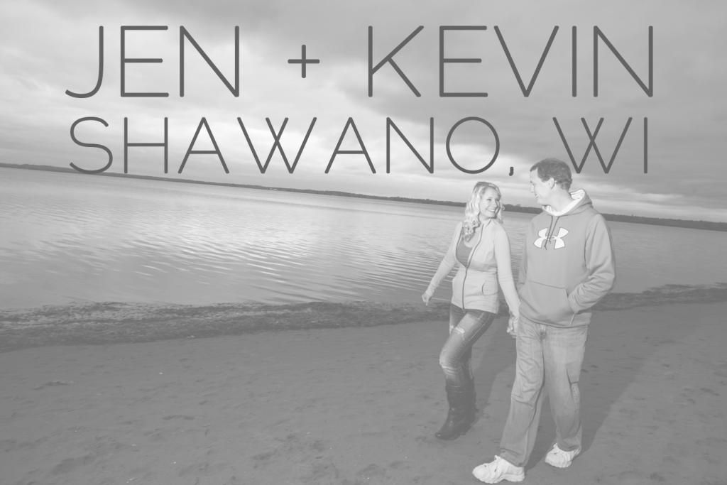 Jen + Kevin are in Love :: Shawano WI Engagement - Alison Kundratic Photography
