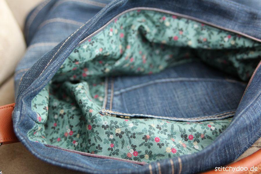 Jeanstasche nähen: Nähanleitung und Schnittmuster   Pinterest ...