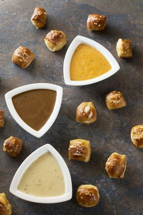 Oktoberfest Trio of Beer Cheese Dips #octoberfestfood
