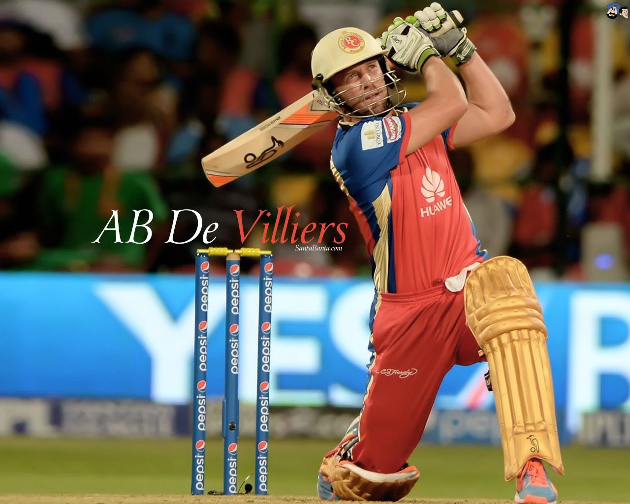 Mr.360 , A famous South African Cricketer AB De