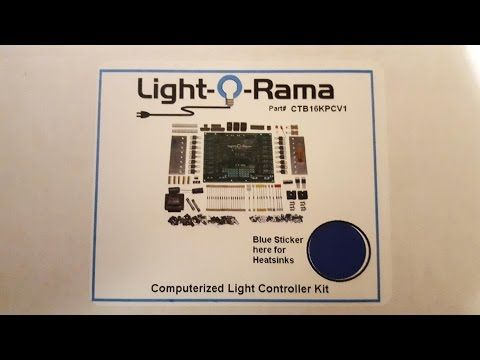 light o rama christmas light controller diy kit bu youtube