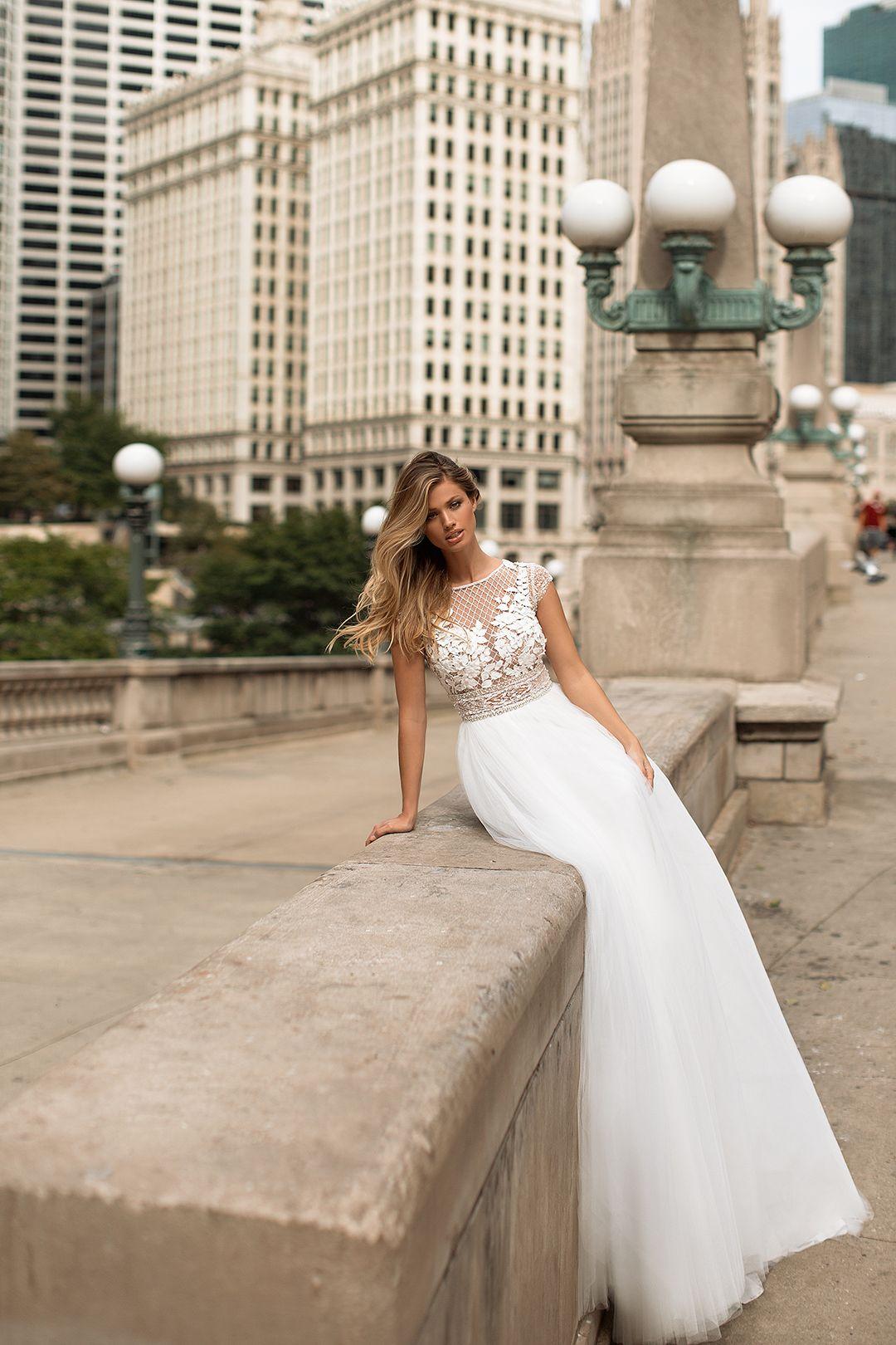 Chicago wedding dresses  Sharlotta wedding dress by Viero Milla Nova Milla Nova