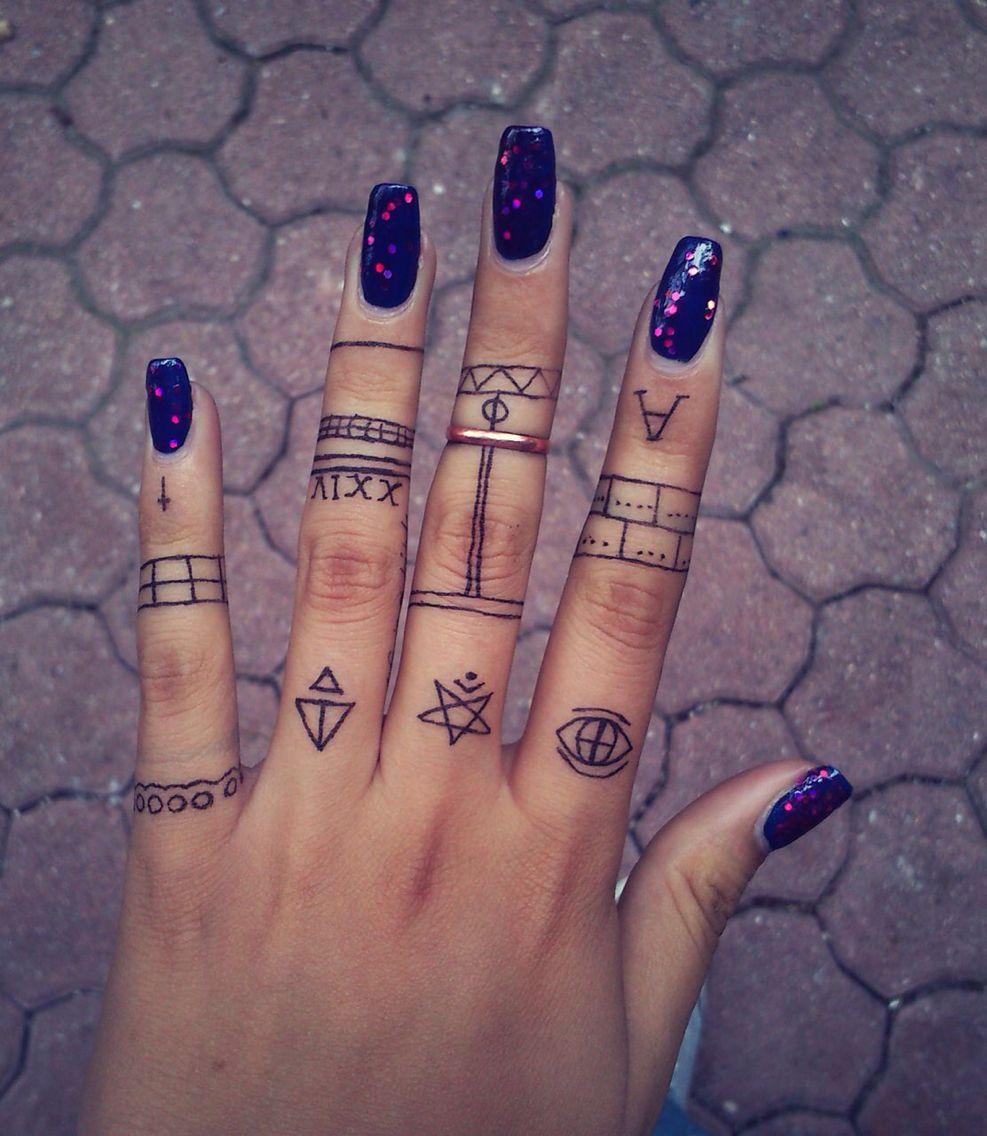 My future tattoo /finger tattoo