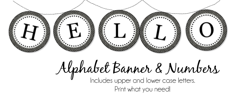 10 Best images about Printable Letters & Flag Banners on Pinterest ...